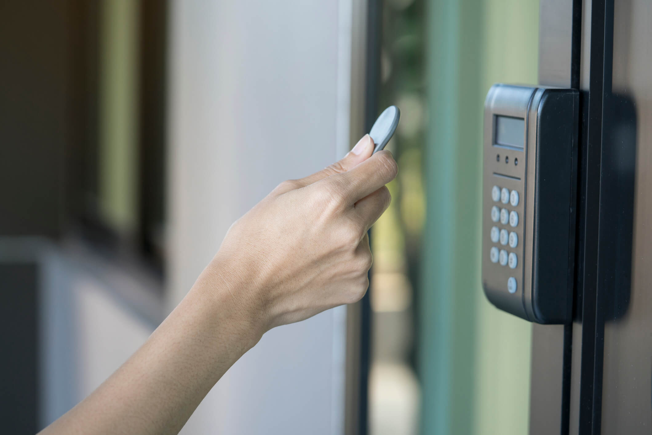 RFID tag key