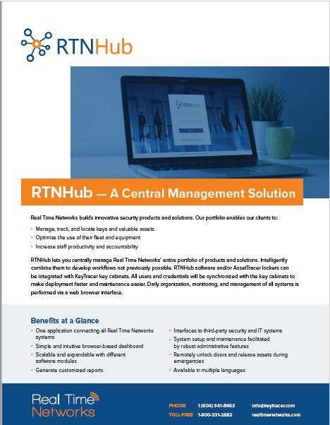 RTNHub-asset-tracking software-PDF-brochure