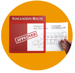 Evacuation Route Map