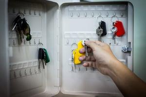 hook key cabinet