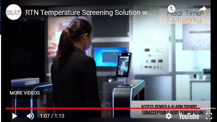 temp reader w access control video thumbnail