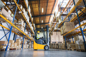warehouse-forklift