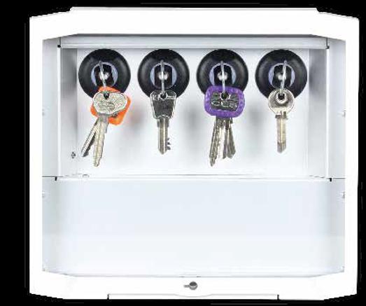 4-key cabinet