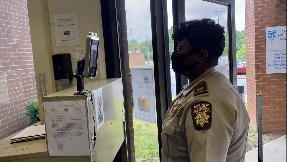 Fulton county jail temp reader